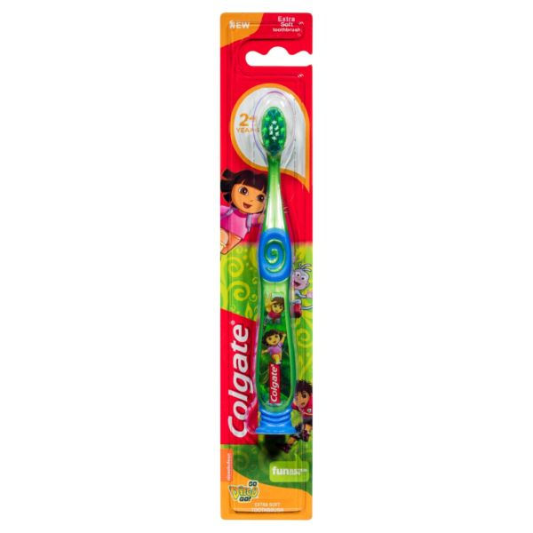 Colgate Smiles 2+ Toothbrush Soft Dora the Explorer (Diego)
