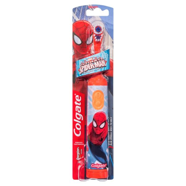 Colgate Marvel Spider-Man Powered Toothbrush Extra Soft