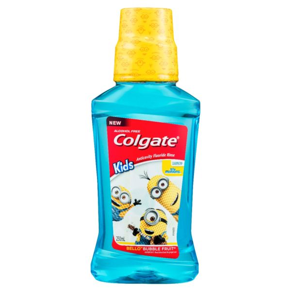 Colgate Kids Minions Anticavity Rinse 250mL