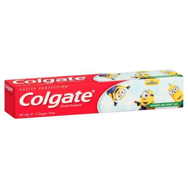 Colgate Kids Toothpaste Sparkling Mint Gel Minions 110g