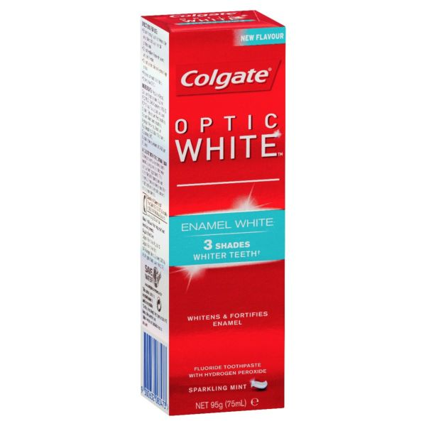 Colgate Optic White Enamel White Toothpaste 95g