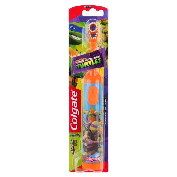 Colgate Toothbrush Teenage Mutant Ninja Turtle Battery Extra Soft Single